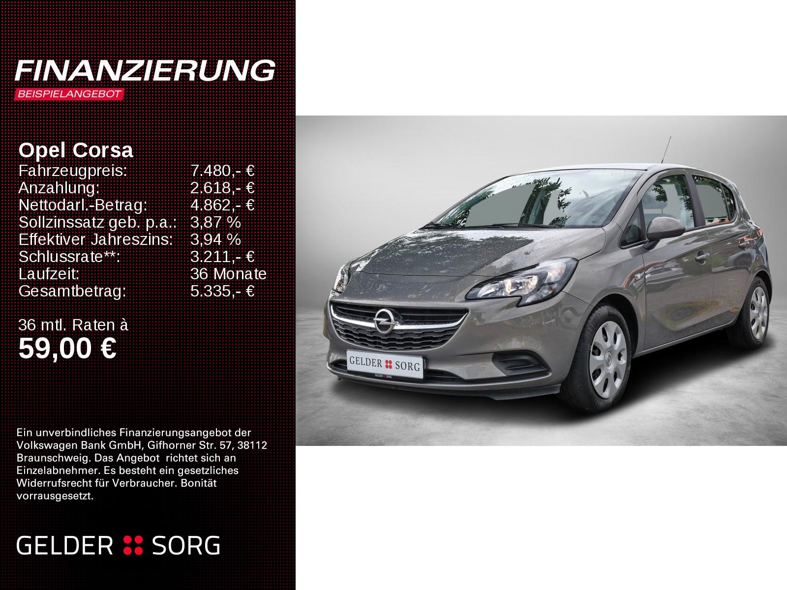 Opel Corsa E 1.4 S-D Edition, Jahr 2015, Benzin