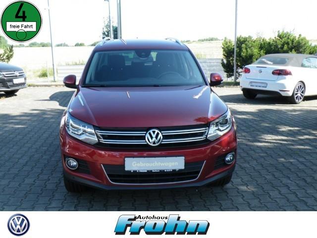 Volkswagen Tiguan Sport & Style 4Motion Xenon Navi, Jahr 2015, Diesel