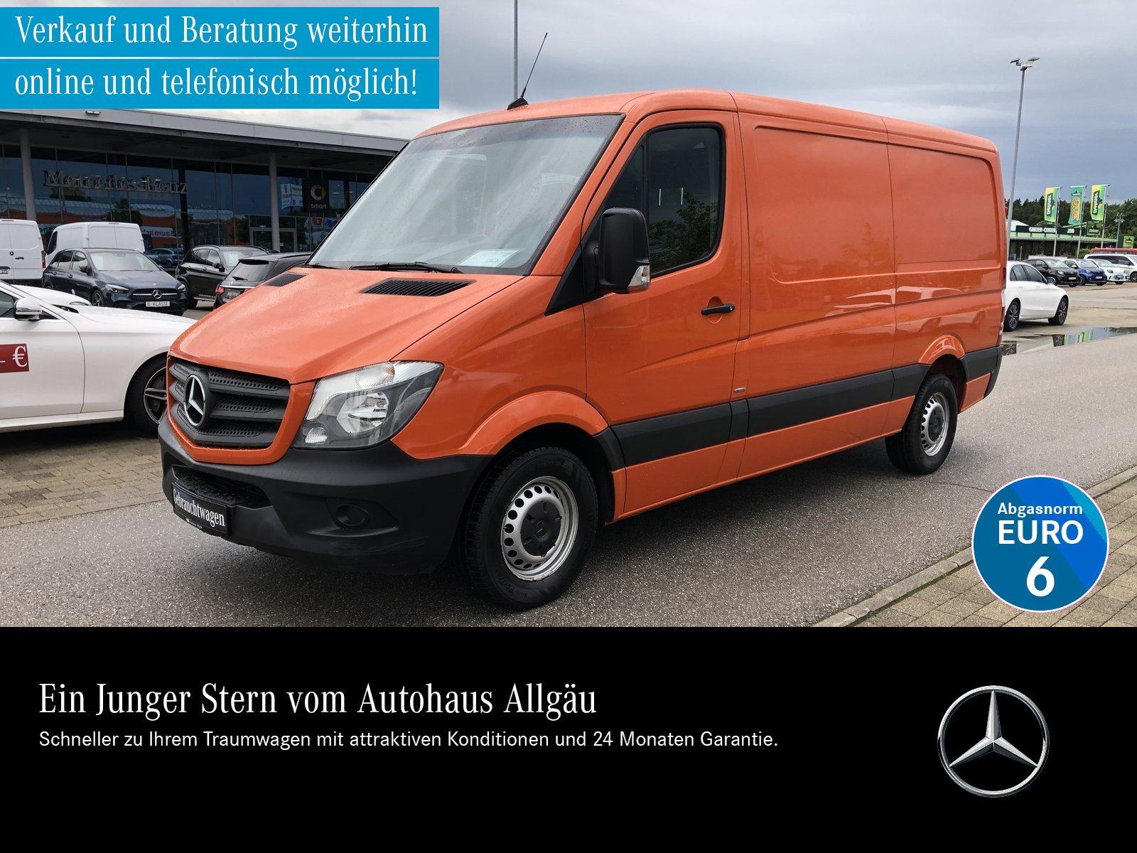 Mercedes-Benz Sprinter 316 BT Kasten Standard AHK 2,8t EURO6, Jahr 2016, Diesel