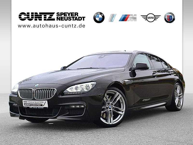BMW 650i xDrive Gran Coupé M Sportpaket Head-Up LED, Jahr 2012, petrol