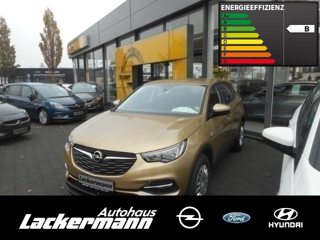 Opel Grandland X Selection 1.2 direkt injection Turbo+AHK, Jahr 2017, petrol