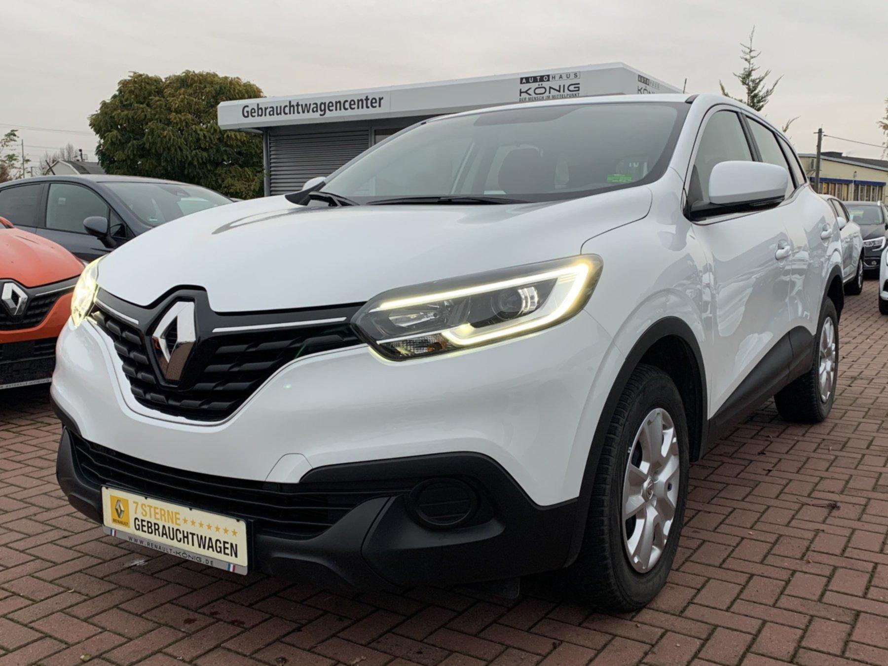 Renault Kadjar 1.3 TCe 140 Life ENERGY Klimaanlage EURO6, Jahr 2018, Benzin
