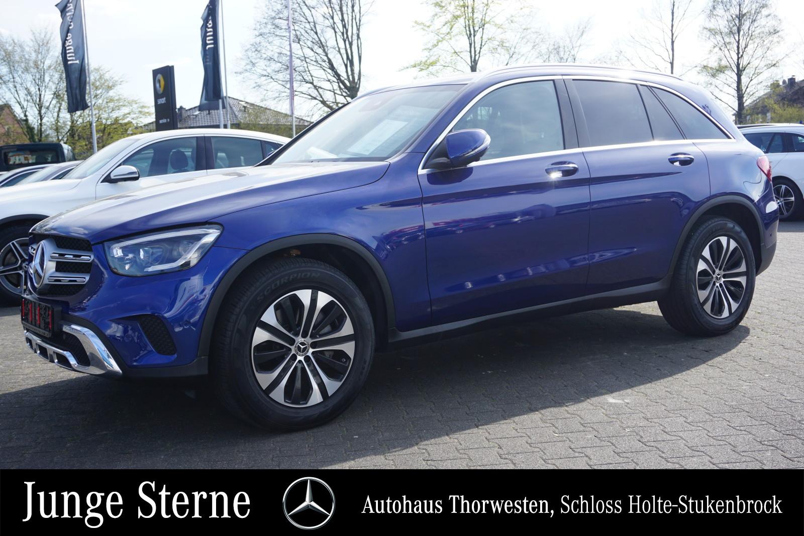 Mercedes-Benz GLC 300 d 4MATIC Distronic Widescreen AHK, Jahr 2019, Diesel