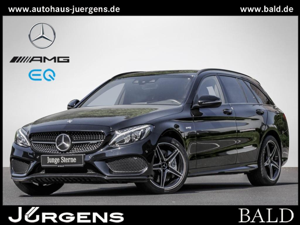 Mercedes-Benz C 43 AMG 4M T Navi/LED/Pano/Cam/Fahrassist/SHZ, Jahr 2018, Benzin