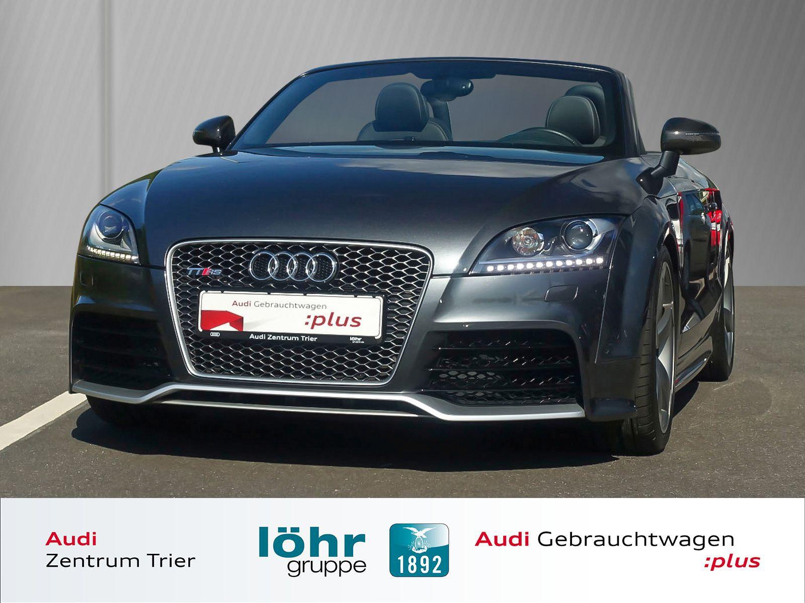 Audi TT RS plus Roadster Navigationssystem plus, Jahr 2013, petrol
