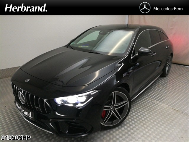 Mercedes-Benz CLA 45 AMG Shooting Brake S KEYLESS+PANO+DISTR, Jahr 2020, Benzin
