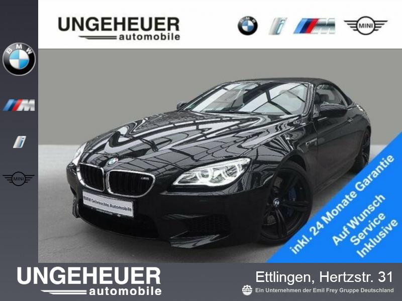BMW M6 Cabrio M Drivers P. Head-Up HK HiFi LED RFK, Jahr 2015, petrol