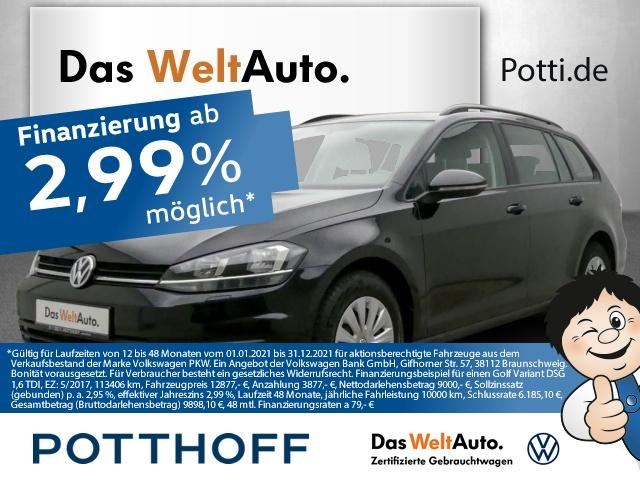 Volkswagen Golf Variant 7 VII 1.6 TDI BMT Navi Telefon Klima, Jahr 2017, Diesel