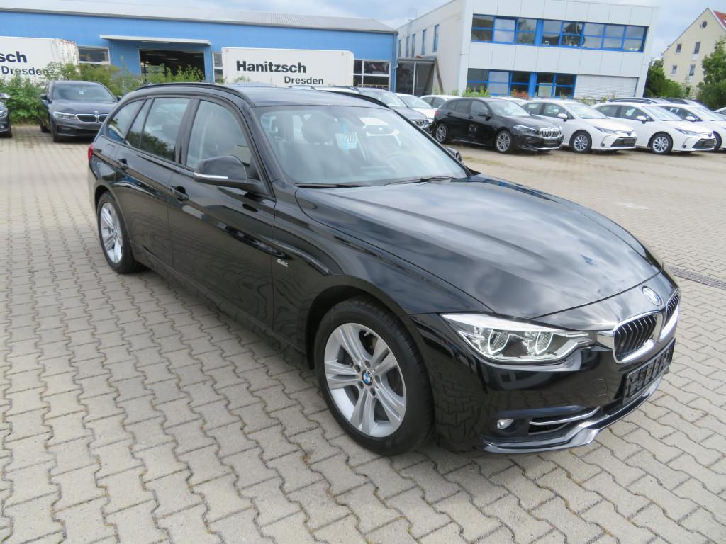 BMW 318 i Touring Sport Line*Navi Prof*Sportsitz*LED, Jahr 2018, Benzin
