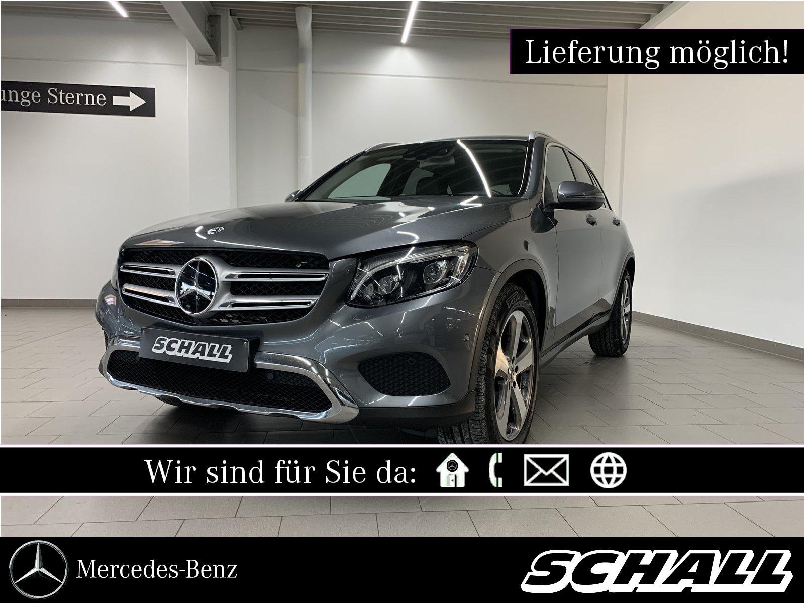 Mercedes-Benz GLC 350 d 4M AMG INT+AHK+DISTR+LED+COMAND+KAMERA, Jahr 2017, Diesel