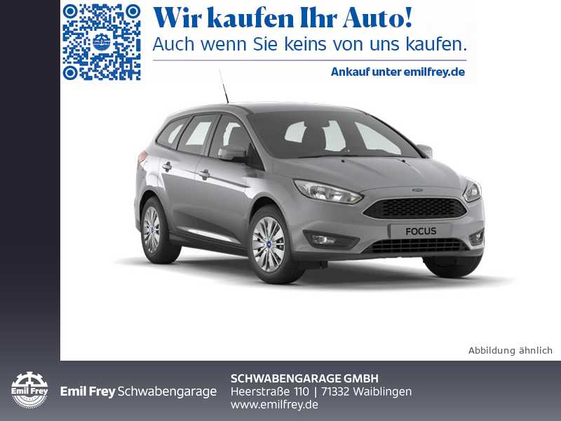 Ford Focus Turnier 1.5 TDCi Titanium *Navi/WinterP/PDC*, Jahr 2018, Diesel
