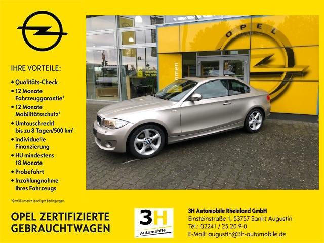 BMW 120 i Coupe Aut.*Xenon*Navi*Schiebedach*UVM!, Jahr 2012, petrol