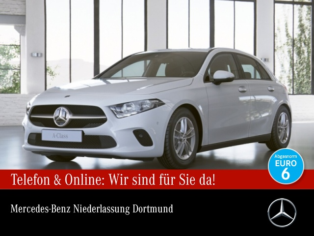 Mercedes-Benz A 200 Spurhalt-Ass PTS 7G-DCT Sitzh Temp, Jahr 2018, Benzin