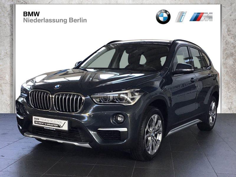 BMW X1 sDrive18d xLine EU6 Aut. LED Navi AHK Alarm, Jahr 2017, Diesel