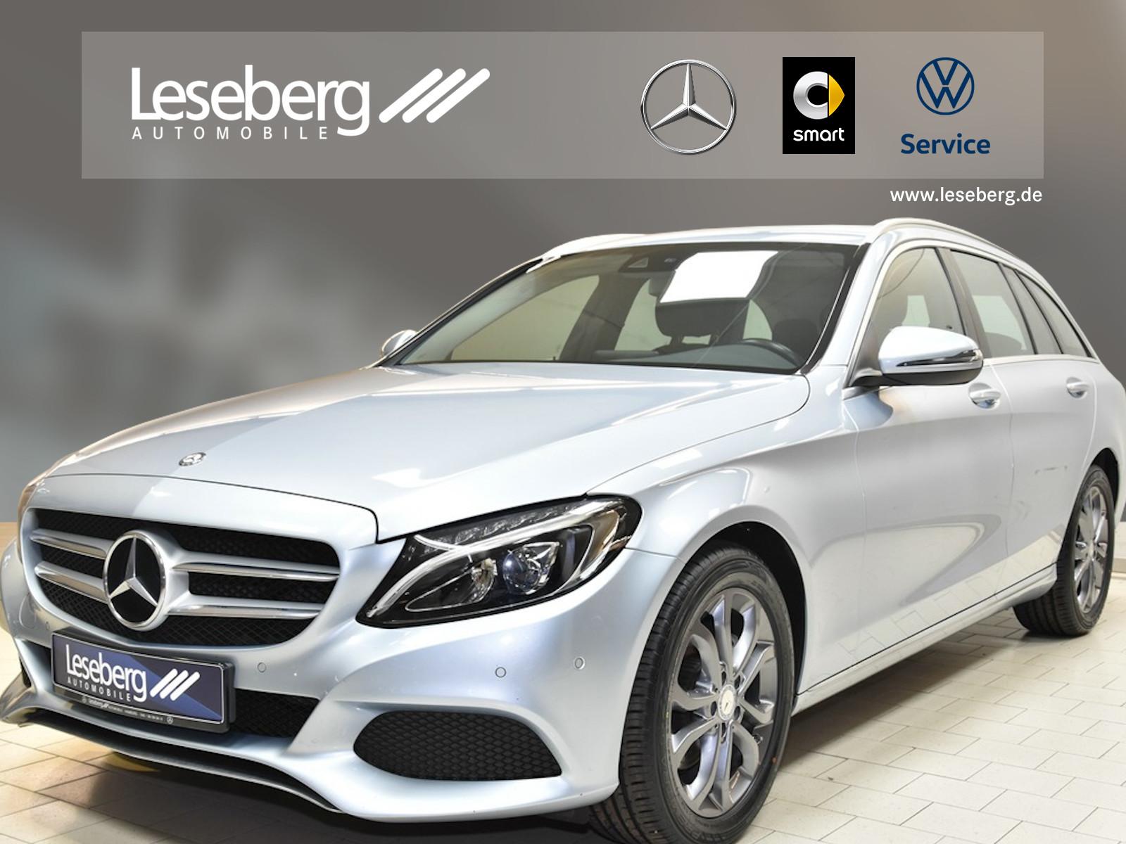 Mercedes-Benz C 220 d T Avantgarde/LED/Navigation/PTS/Sitzhzg., Jahr 2016, Diesel