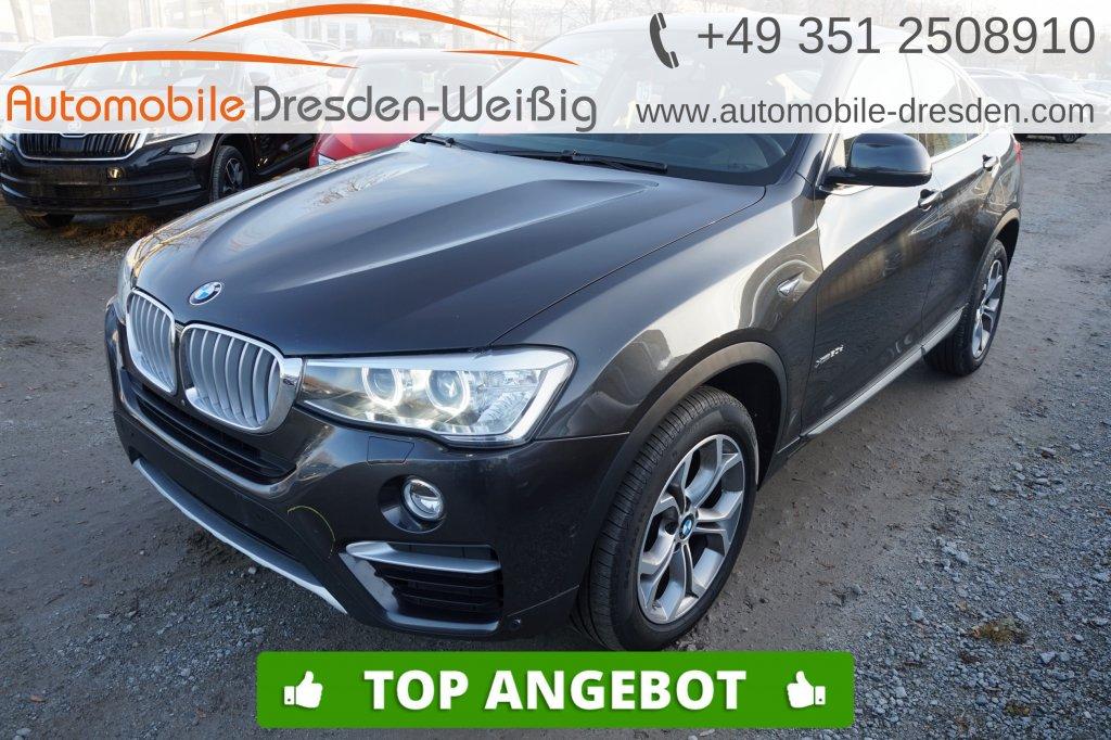 BMW X4 xDrive30d xLine*Navi*HeadUp*Pano*Bi Xenon*, Jahr 2017, Diesel