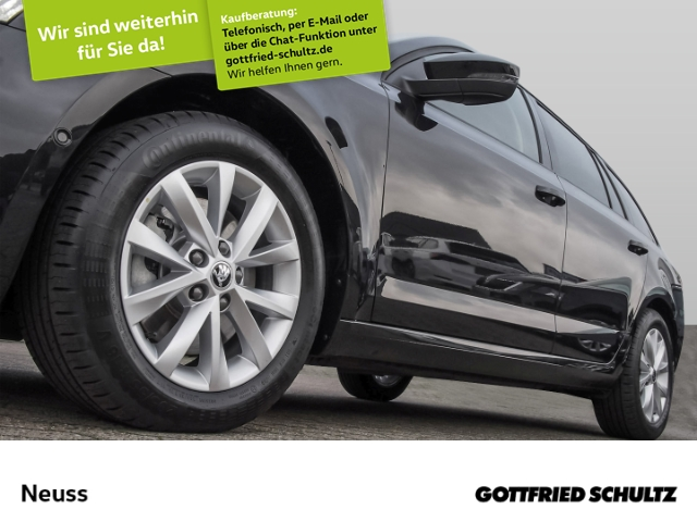 Skoda Octavia Combi DSG 4x4 NAVI APP LEDER KAMERA Style, Jahr 2020, Benzin