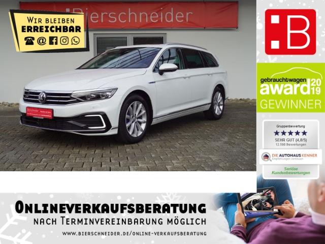 volkswagen passat variant 1.4 tsi dsg gte dcc pano standhzg, jahr 2020, hybrid