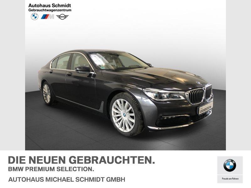 BMW 730d MASSAGE+GSD+KOMFORTSITZ+LASER+, Jahr 2018, Diesel
