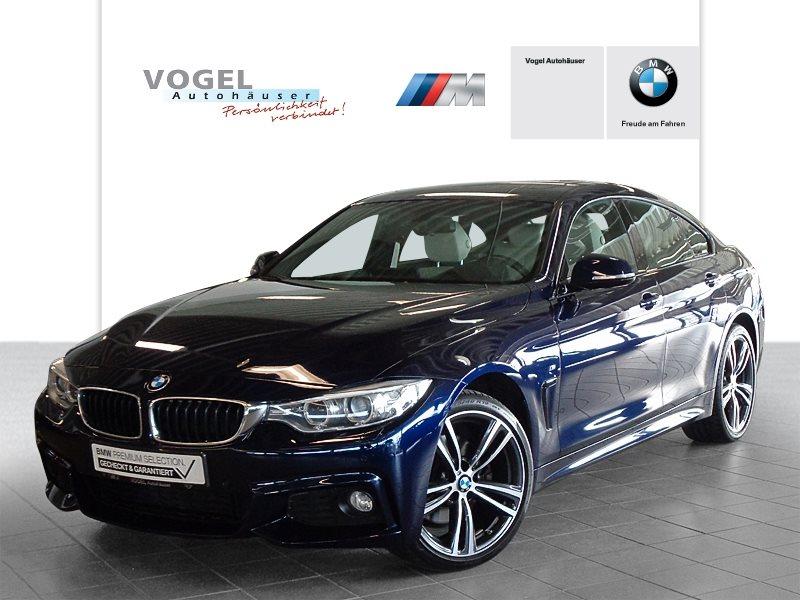 BMW 430i xDrive Gran Coupé Modell M Sport Euro 6 Navi Prof Head-Up Display PDC Klima Sitzheizung Xenon Pano.-Glasdach, Jahr 2016, Benzin