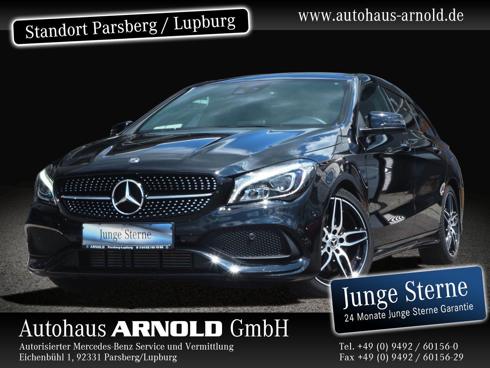 Mercedes-Benz CLA Shooting Brake 4M AMG Line Night Kamera LED, Jahr 2019, Benzin