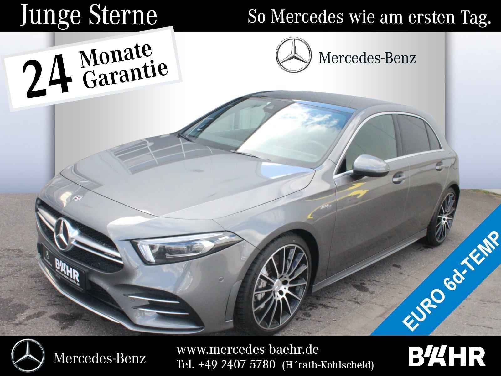 Mercedes-Benz A 35 AMG 4M MBUX-Navi-Premium/Multibeam/RFK/Pano, Jahr 2019, Benzin