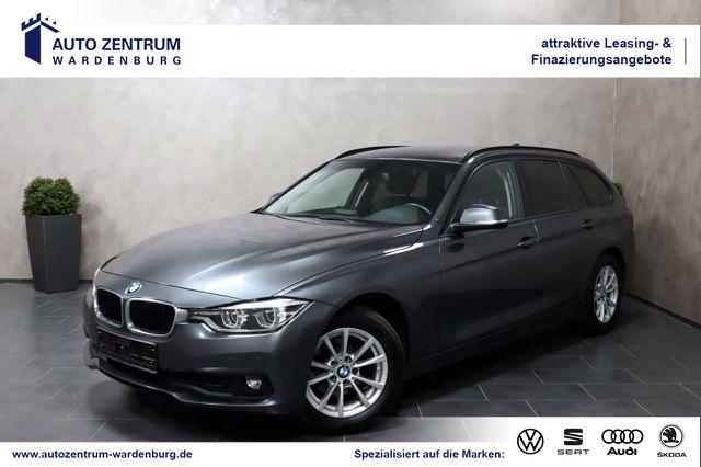 BMW 316 d Touring Steptronic LED AHK NAV SHZ PDC LMF, Jahr 2018, Diesel