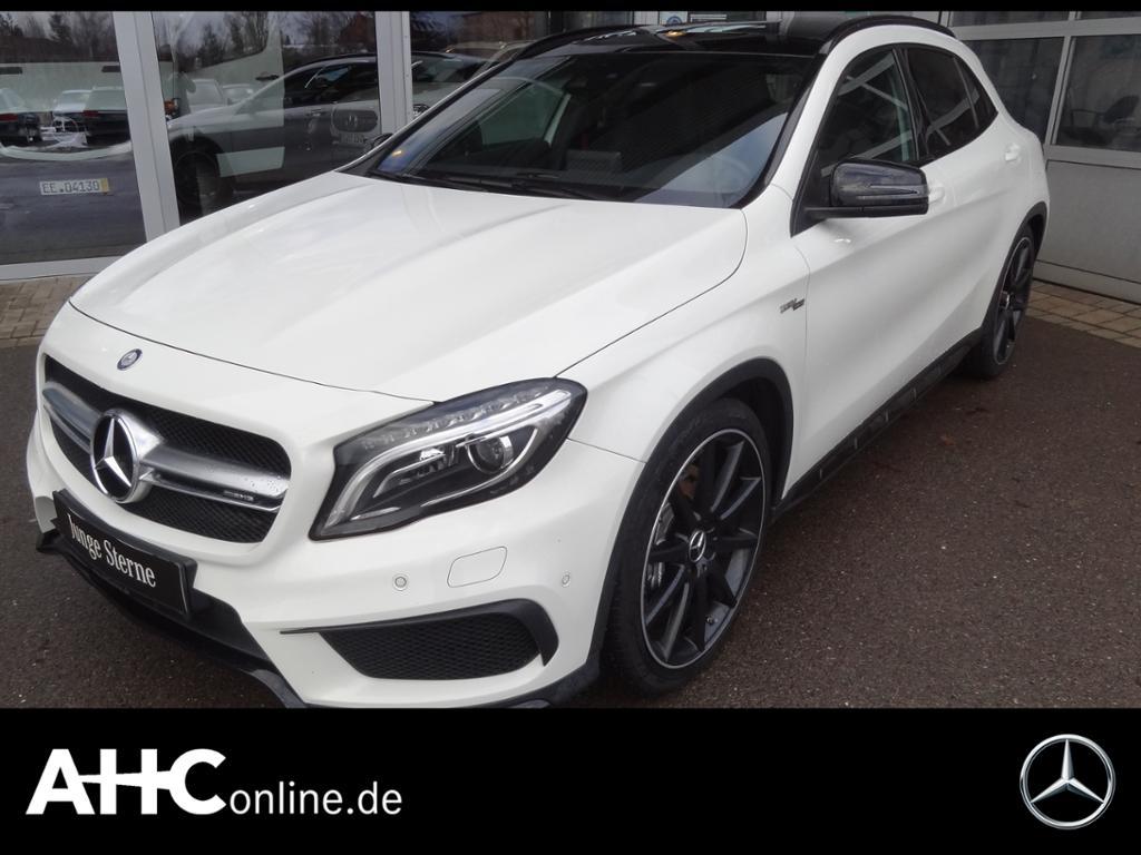 Mercedes-Benz GLA 45 AMG 4M HARMAN+COMAND+ILS+PANORAMA+SPUR-P., Jahr 2016, Benzin