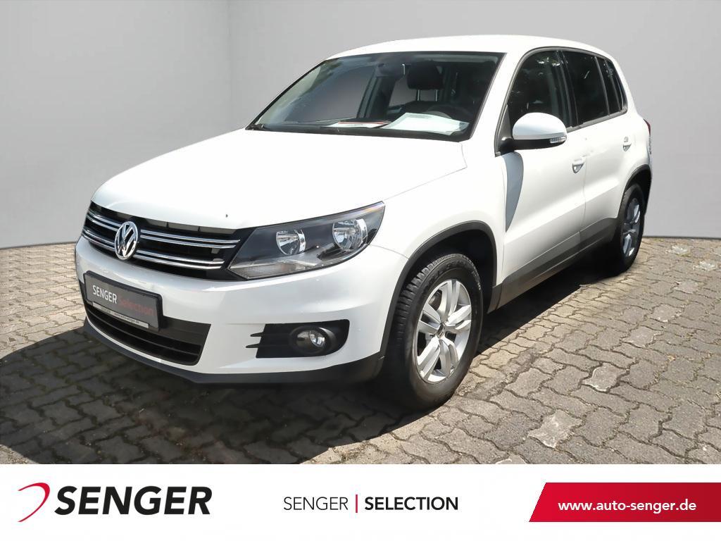 Volkswagen Tiguan 1.4 TSI Trend & Fun Klimaanlage USB MP3, Jahr 2015, Benzin