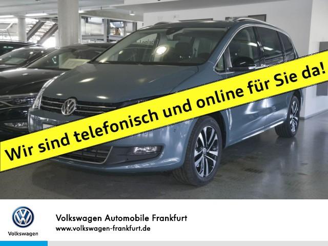 Volkswagen Sharan 2.0 TDI DSG IQ.DRIVE Anschlußgarantie Einparkhilfe Navi Panoramadach Standheizung Leichtmetallfelgen SHARAN CL DT110 TDID6F, Jahr 2019, Diesel