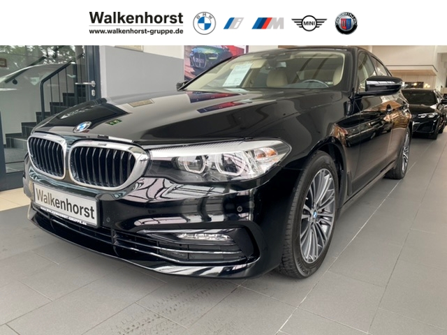 BMW 540 i Sport Line Business Paket Leder AHK RFK, Jahr 2018, Benzin