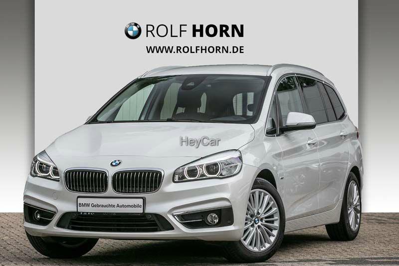 BMW 218 Gran Tourer Luxury Line Aut. LED HIFI EURO6, Jahr 2017, Diesel