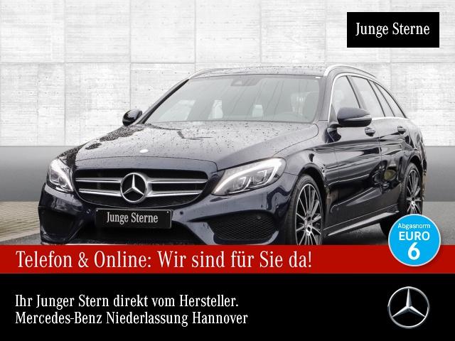Mercedes-Benz C 200 T 4M AMG COMAND ILS LED Klimaautom PTS Sitzh, Jahr 2016, Benzin