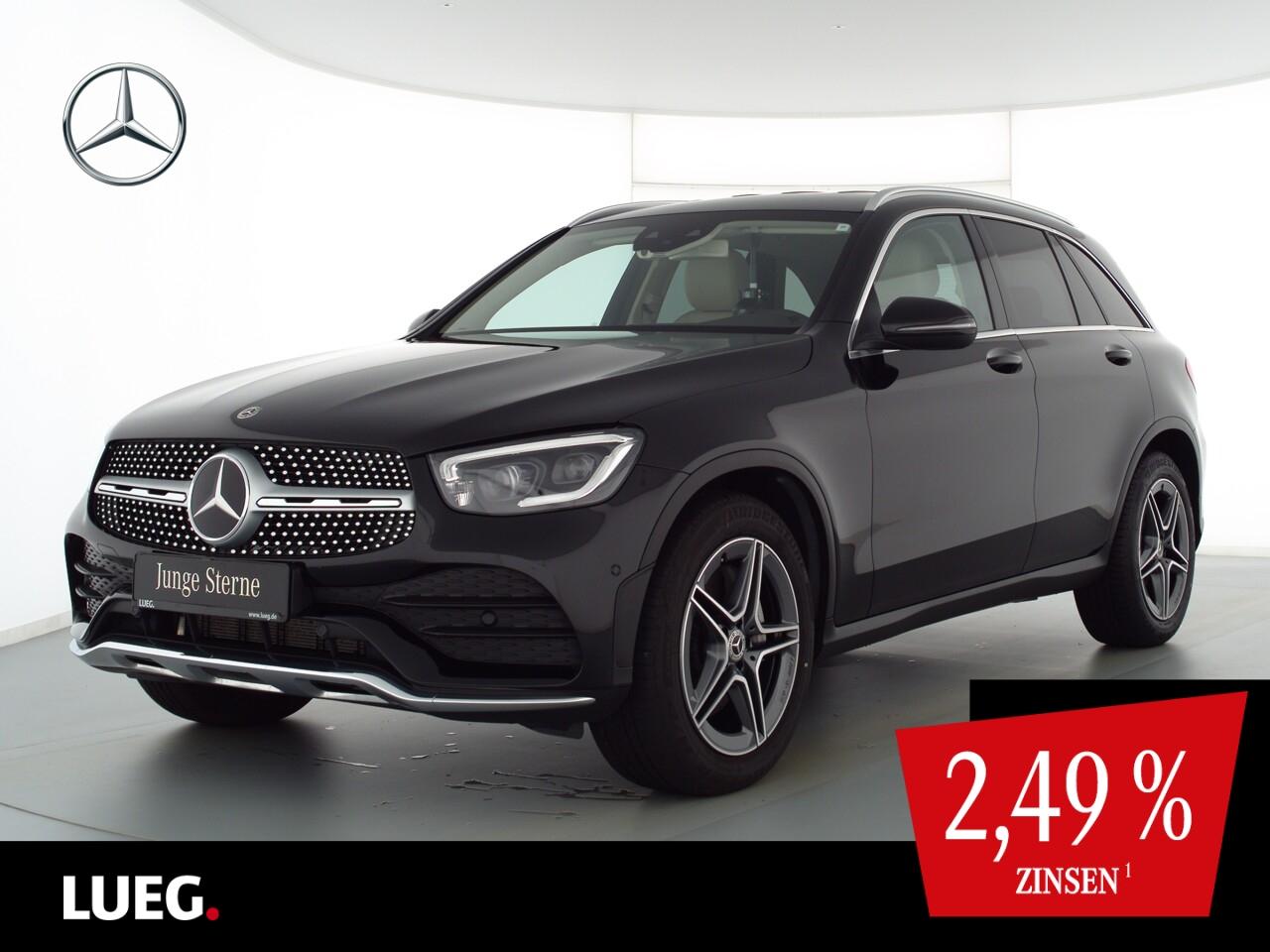 Mercedes-Benz GLC 200 4M AMG+MBUX+Mbeam+Distr+Mem+EHeck+Kamera, Jahr 2020, Benzin