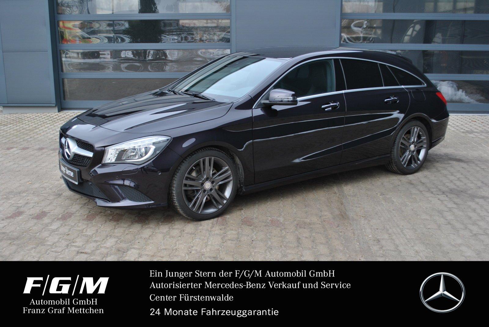 Mercedes-Benz CLA 250 4M SB Urban/Navi/ILS/KeyGo/Exklusiv-Pak, Jahr 2016, Benzin