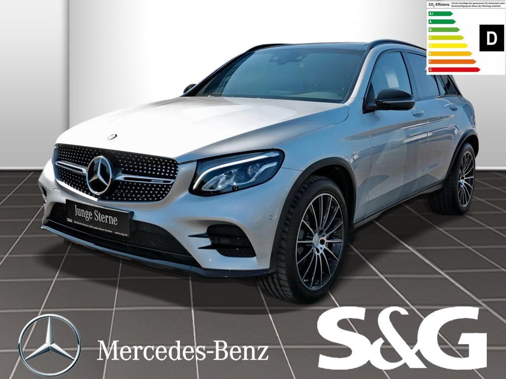 Mercedes-Benz GLC 43 AMG 4MATIC Distronic/LED/Sitzhz/PanoDach, Jahr 2016, Benzin