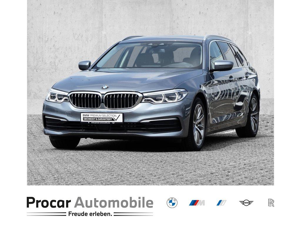BMW 540i xDrive Touring+Head-Up+LED+Speed Limit+Navi+Spurwechselassis., Jahr 2017, Benzin