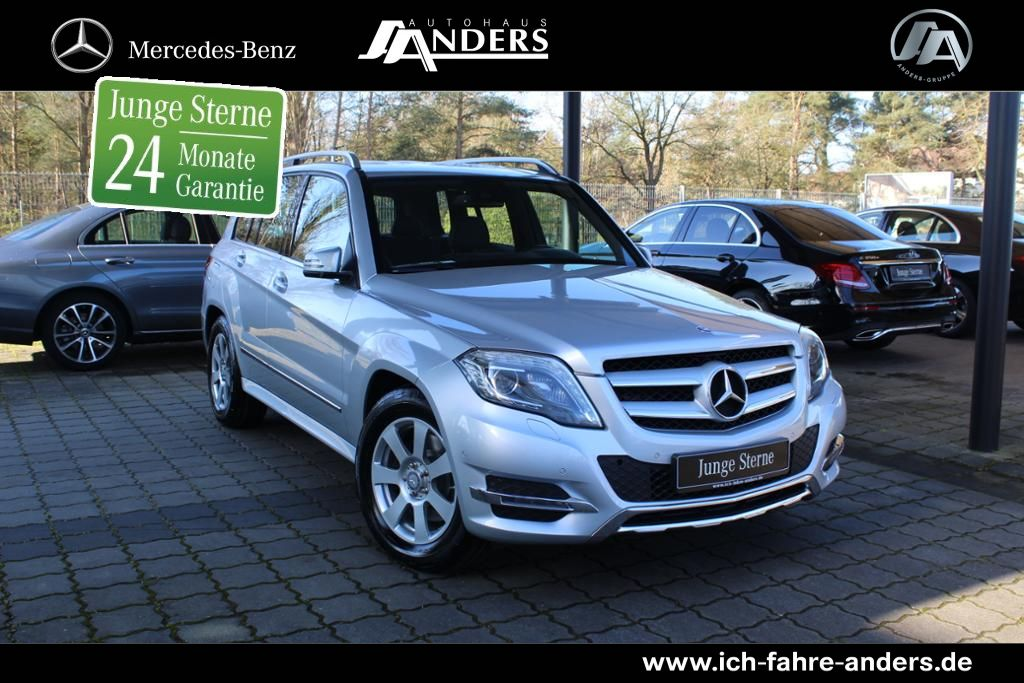 Mercedes-Benz GLK 250 BT 4M Comand+Bi-Xenon+AHK+Kamera+PDC+Kam, Jahr 2014, Diesel