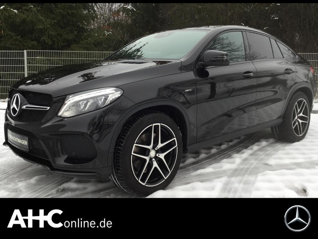 Mercedes-Benz GLE 450 AMG 4M Coupé COMAND+LED+PANOR.+AHK+PDC.., Jahr 2016, Benzin