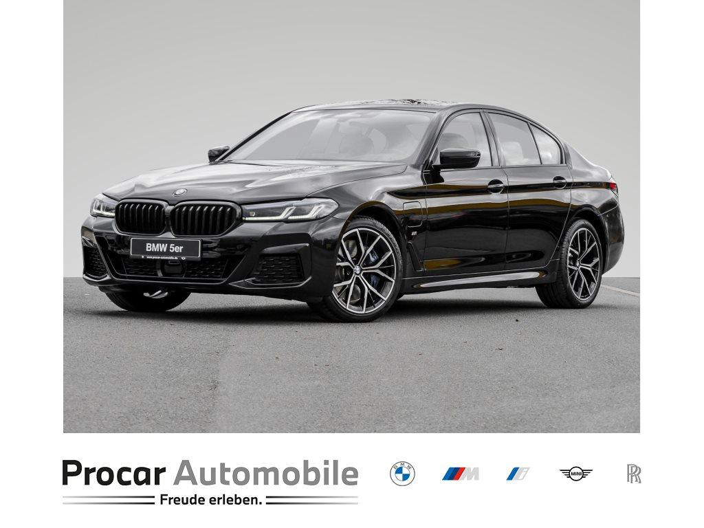 BMW 545e xDrive Limousine Navi Prof Leder 1. Hand Touchscreen Multifunktion Sitzheizung LM-Räder Euro 3.750,00 Leasingsonderzahlung, Jahr 2021, Hybrid