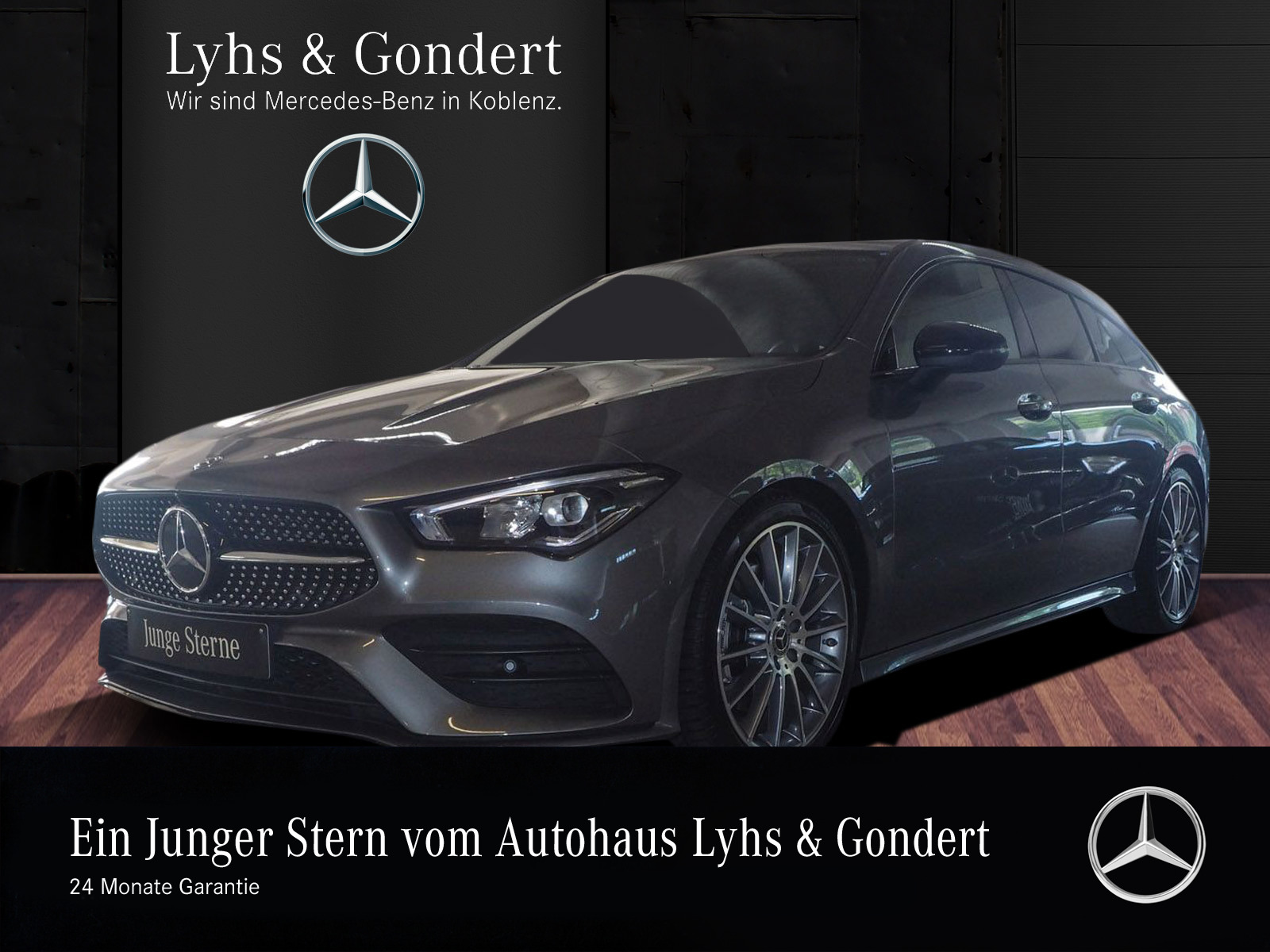 Mercedes-Benz CLA 220 Shooting Brake AMG 360° Night LED Memory, Jahr 2019, Benzin