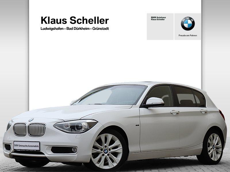 BMW 118d 5-Türer Urban Line HiFi Xenon GSD Tempomat, Jahr 2014, Diesel