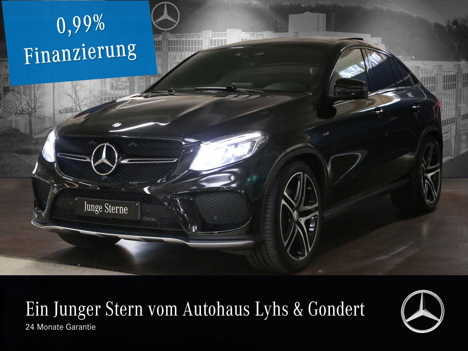 Mercedes-Benz GLE 450 AMG 4M Harman Fond-tv Comand Pano.-Dach, Jahr 2016, Benzin
