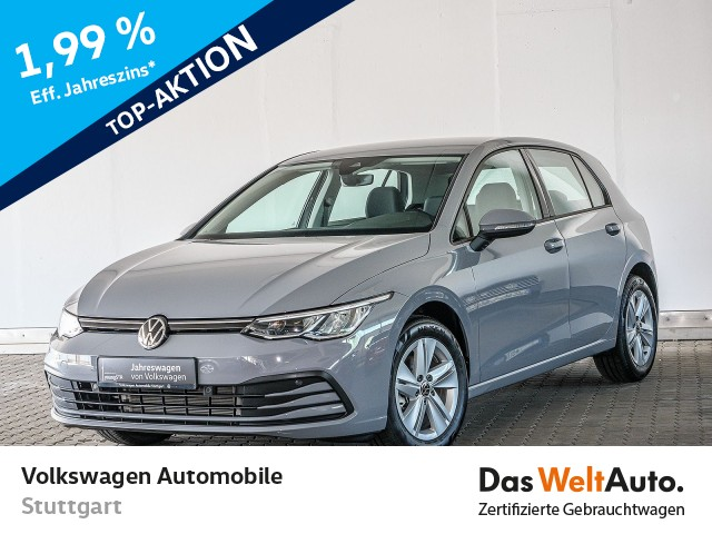 Volkswagen Golf 8 Life 1.0 TSI Navi LED ACC DAB AID SHZ, Jahr 2020, Benzin