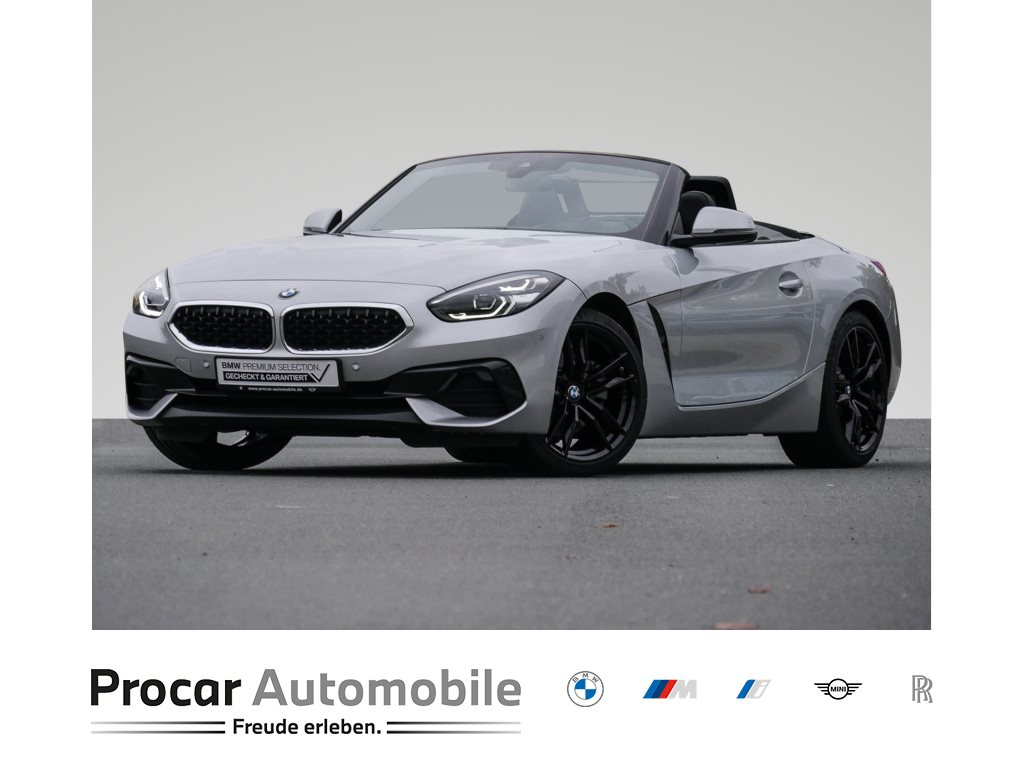 BMW Z4 sDrive20i Automatik Head-Up HiFi LED RFK Leder Bluetooth Freisprechen Multifunkionslenkrad LM-Räder 19 Zoll JETBLACK, Jahr 2019, Benzin