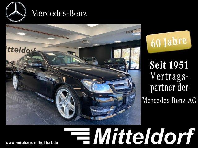 Mercedes-Benz C 180 Coupé AMG SPORTP. ILS AUTOM. NAVI PTS, Jahr 2013, Benzin