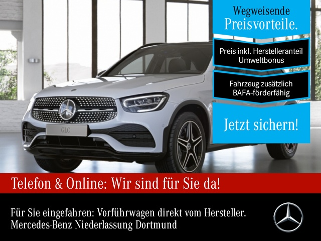 "Mercedes-Benz GLC 300 e 4M AMG Sportpaket Night AMG 18"" LED, Jahr 2021, hybrid"