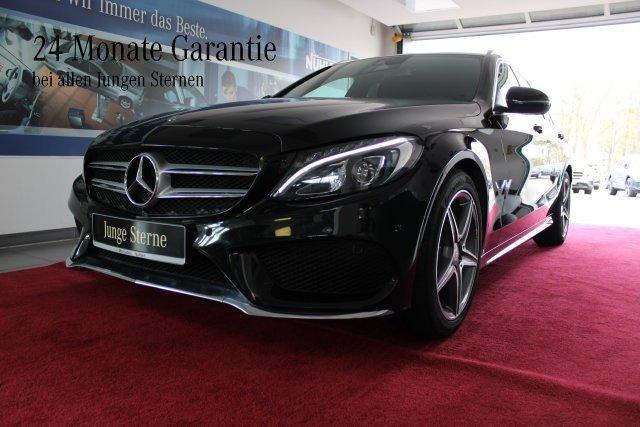 Mercedes-Benz C 180 T-Modell AMG Line+LED+Navi+Automatik Klima, Jahr 2016, Benzin