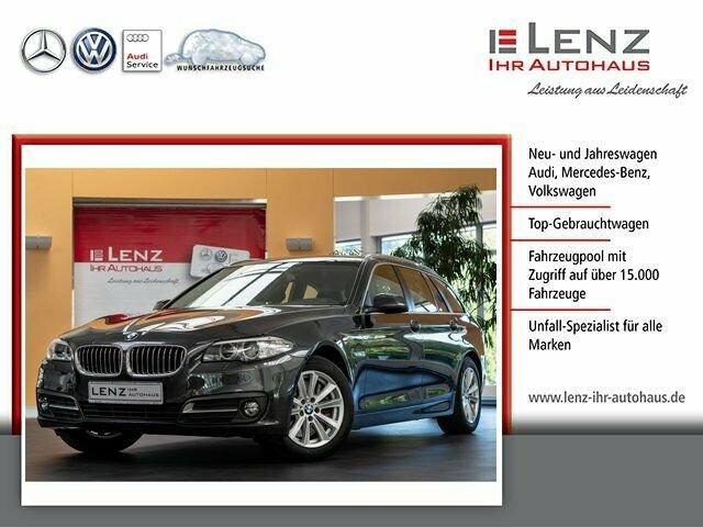 BMW 528 i Touring Navi-Standhzg.-Alu-Xenon-AHK, Jahr 2016, Benzin
