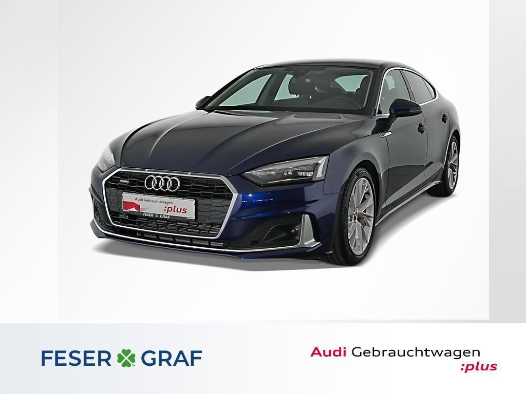 Audi A5 Sportback Advanced 45TFSI q Virtual P/SHZ/18, Jahr 2020, Benzin